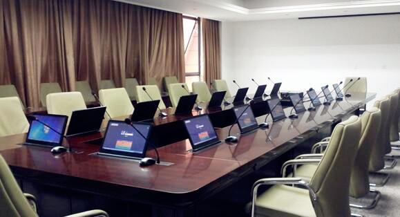 无纸化交互式会议系统助力某集团打造环保高效会议室