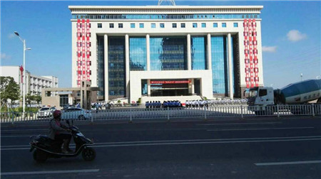 TEANMA背景音乐系统进驻廉江市公安局大楼