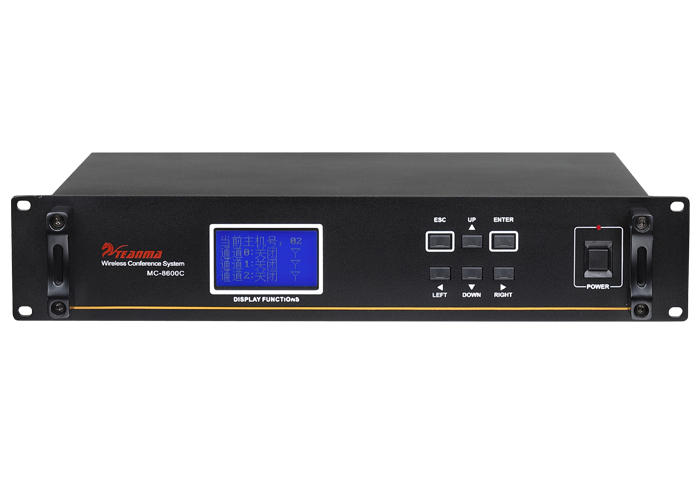 触控网络控制视像无线会议主机 MC-8600C
