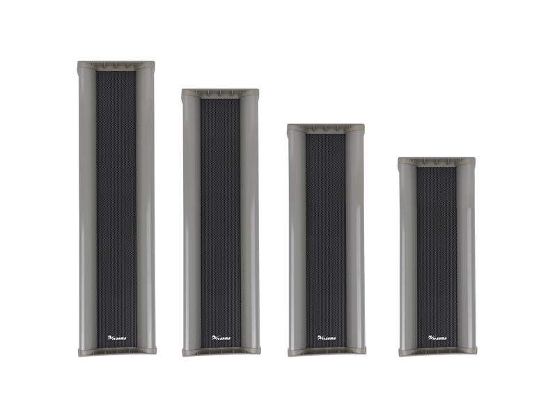 立体方形—室外防水音柱 TM-610~640