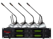 一拖八无线会议话筒MC-808M