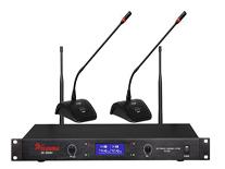 U段一拖二无线会议话筒 MC-802MU