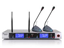 U段真分级一拖二无线话筒 MC-802(会议式)