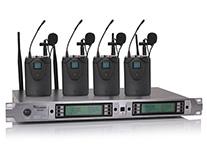 U段一拖四无线话筒 MC-804(领夹式)