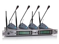 四鹅颈——U段一拖四无线话筒 MC-804(会议式)