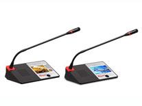 触摸屏控制数字视频会议主席机/代表机 MC-9301/MC-9302