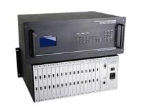 24路混合机箱(输入输出加起来不能超过32路信号,只支持2路卡) YS-HC2408
