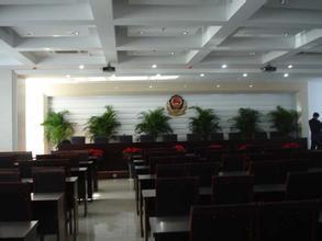 某公安局大楼会议室应用TEANMA会议系统